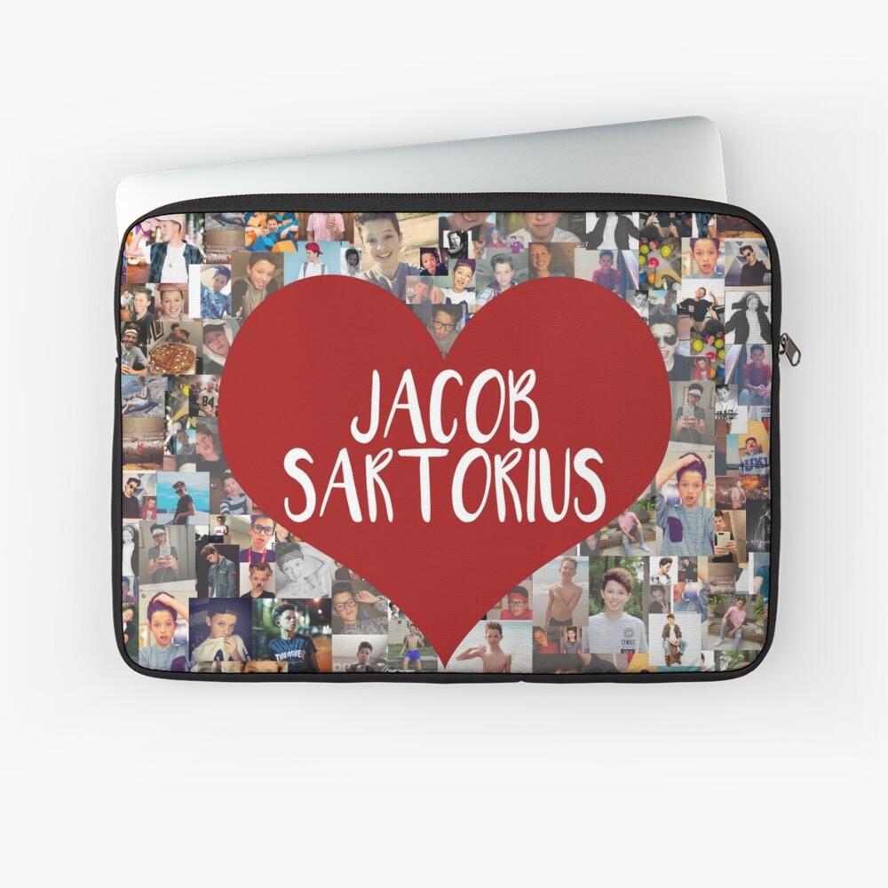 Ich liebe Jacob Sartorius Laptoptasche
