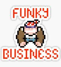 Funky Business Sticker