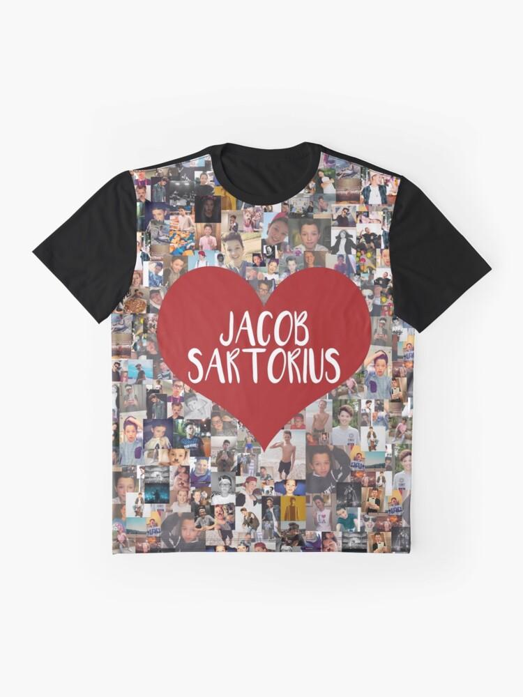 Alternative Ansicht von Ich liebe Jacob Sartorius Grafik T-Shirt