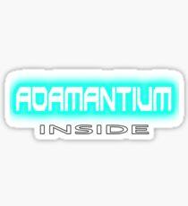 Adamantium, it makes Logan, Wolverine so strong Xmen (Marvel comics) Sticker