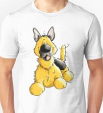 Happy German Shepherd Unisex T-Shirt