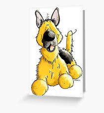 Happy German Shepherd Greeting Card
