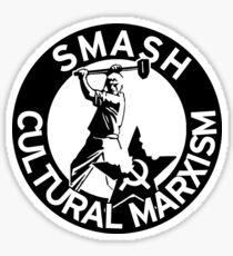Smash Cultural Marxism - Alt-Right Logo - /pol/ Sticker