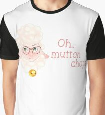 Oh, Mutton Chops Graphic T-Shirt