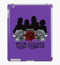 Haven Team Parker Sides Of Audrey Black & White Logo   iPad Case/Skin