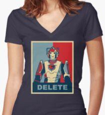 Cybermen Hope Women's Fitted V-Neck T-Shirt