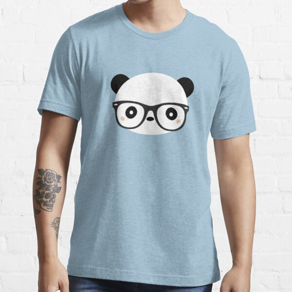 Kawaii Panda Is A Nerd  Essential T-Shirt
