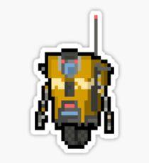 8-Bit Claptrap Sticker