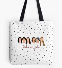 Gilmore Girls Characters Tote Bag