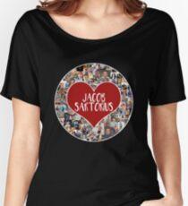 I love Jacob Sartorius - Circle Women's Relaxed Fit T-Shirt