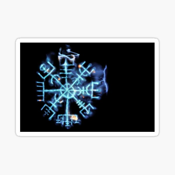 Vegvisir - Spiritual Energy Sticker