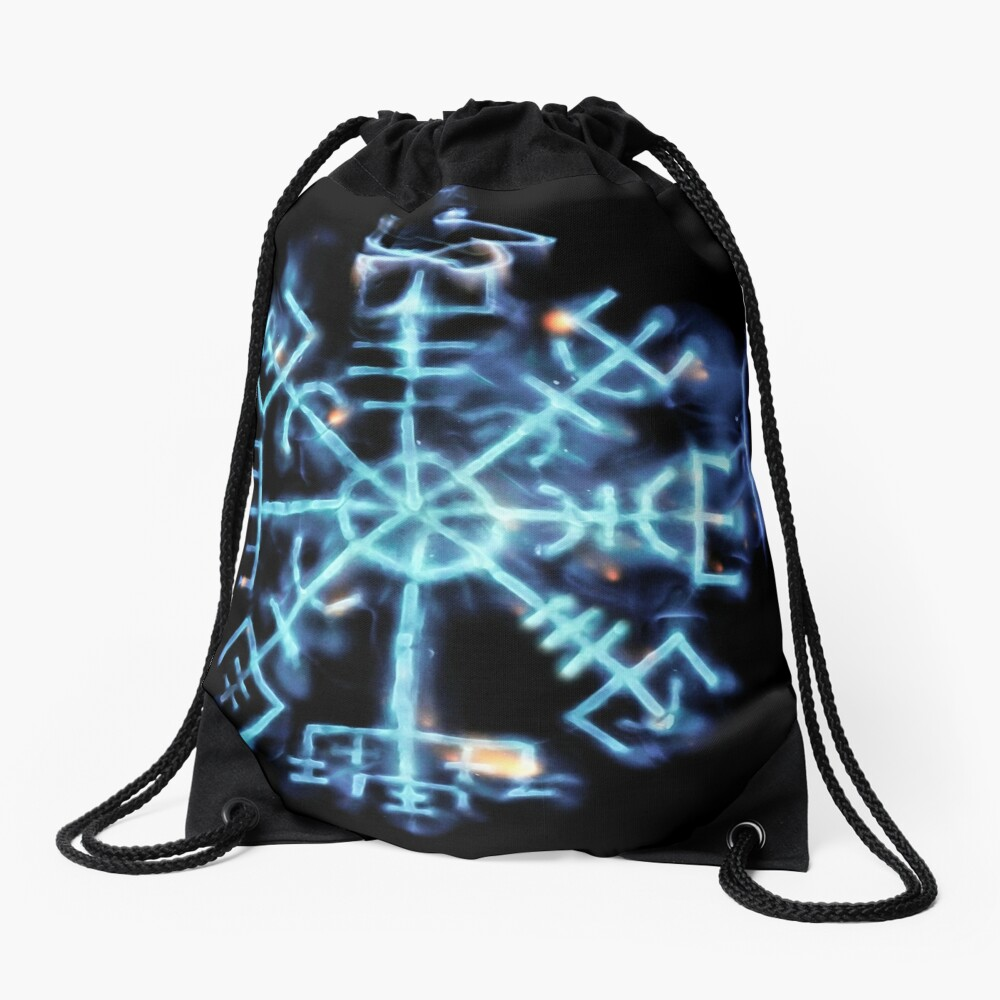 Vegvisir - Spiritual Energy Drawstring Bag