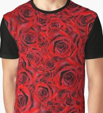 Rose Pattern 10 Graphic T-Shirt