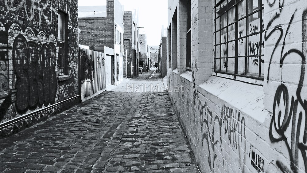 Graffiti Ally by Neil Mouat