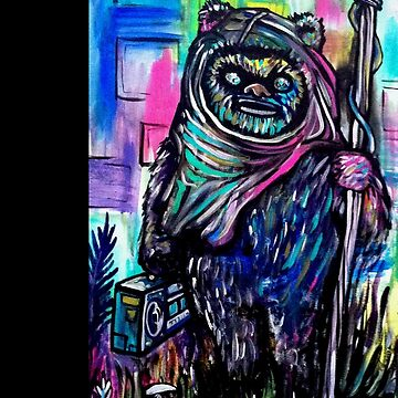 Wicket B-Boy by brianbarnardart