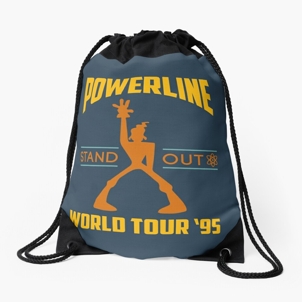 Powerline Stand Out World Tour '95 Drawstring Bag