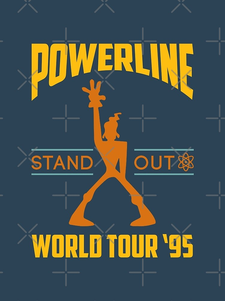 Powerline Stand Out World Tour '95 by Batg1rl