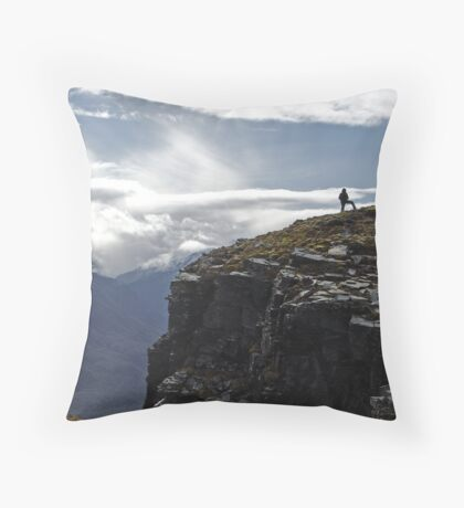 Mount Alfred Throw Pillow
