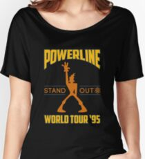Powerline Stand Out World Tour '95 Women's Relaxed Fit T-Shirt
