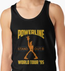 Powerline Stand Out World Tour '95 Tank Top