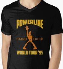 Powerline Stand Out World Tour '95 Men's V-Neck T-Shirt
