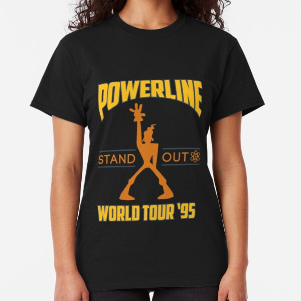Powerline Stand Out World Tour '95 Classic T-Shirt