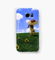 Merry Sunshine's Floral Charms Samsung Galaxy Case/Skin