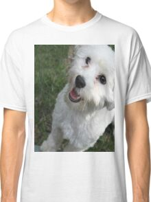 A Puppy Saying Hello Classic T-Shirt