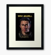 Dax Orrell - Scout Poster Framed Print