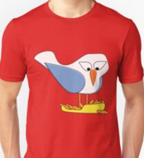 Seagull Eating Chips T-Shirt