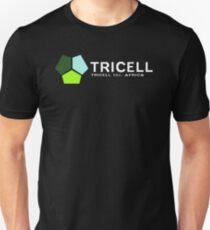TRICELL Logo, White Text, Resident Evil Unisex T-Shirt