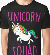 Unicorn Squad Cute Funny Unicorn Shirt Graphic T-Shirt