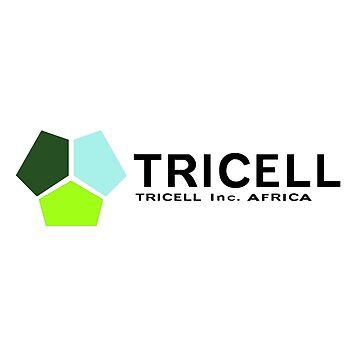 TRICELL Logo, Black Text, Resident Evil by 411drpkv4c