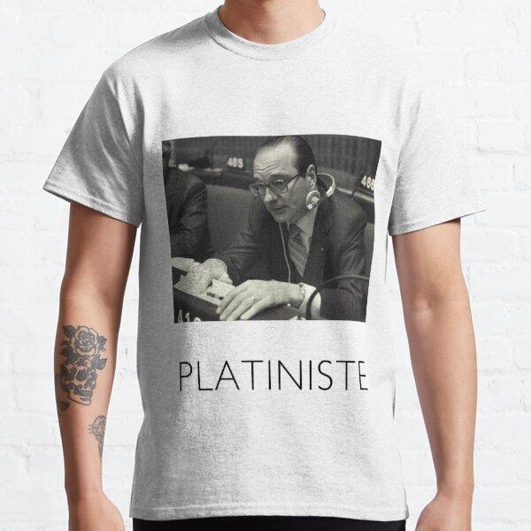 Chirac platiniste T-shirt classique