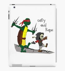 Casey and Raph iPad Case/Skin