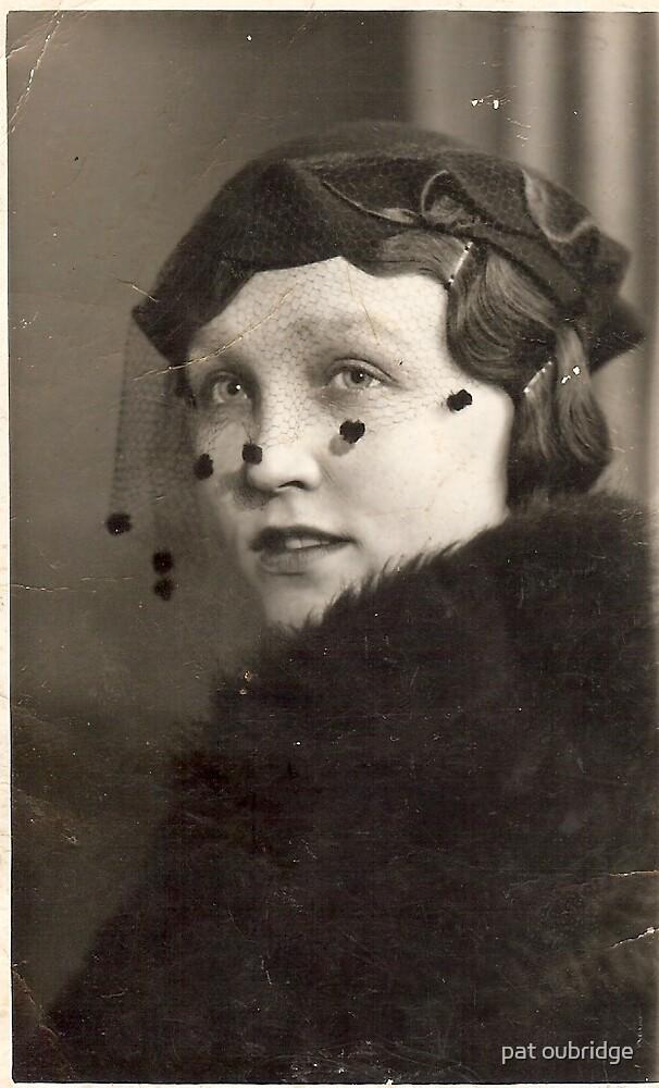 beautiful lady by pat oubridge
