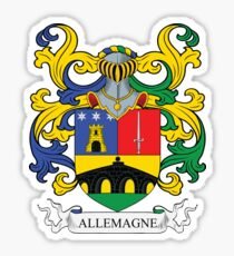 Allemagne Coat of Arms Sticker