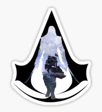 Edward Kenway Sails Sticker