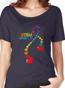 Autism awareness ribbon t-shirt Women's Relaxed Fit T-Shirt
