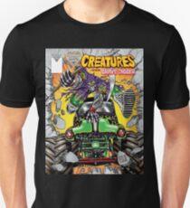 creatures feat grave digger monster jam T-Shirt