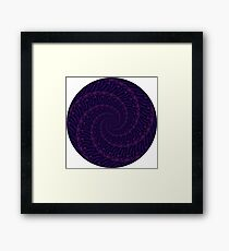 Abstract 221b Framed Print