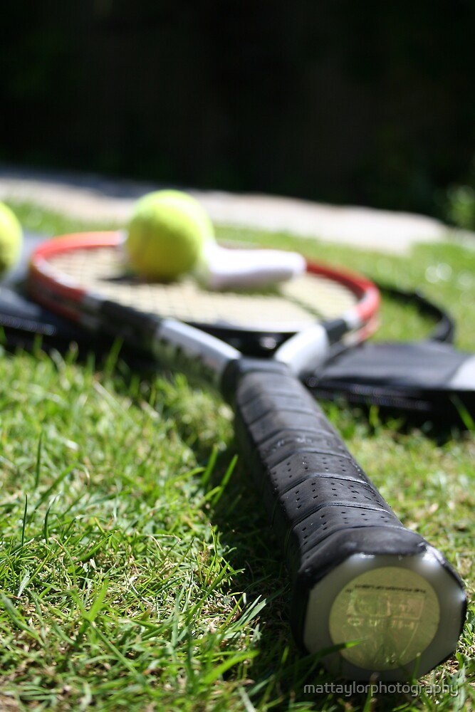 Tennis Enthusiast by mattaylorphotography
