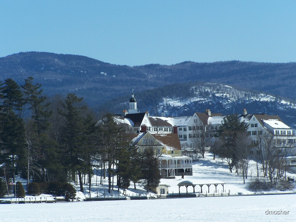 The Sagamore In her Snow Suit by dmosher