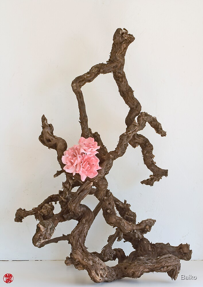 Ikebana-037 by Baiko