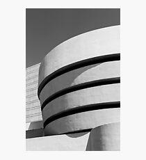 Stacks of the Guggenheim Photographic Print