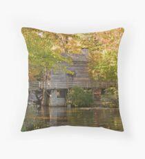 Grist Mill Throw Pillow