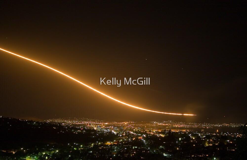 F1-11 Dump & Burn - Hobart Regatta by Kelly McGill