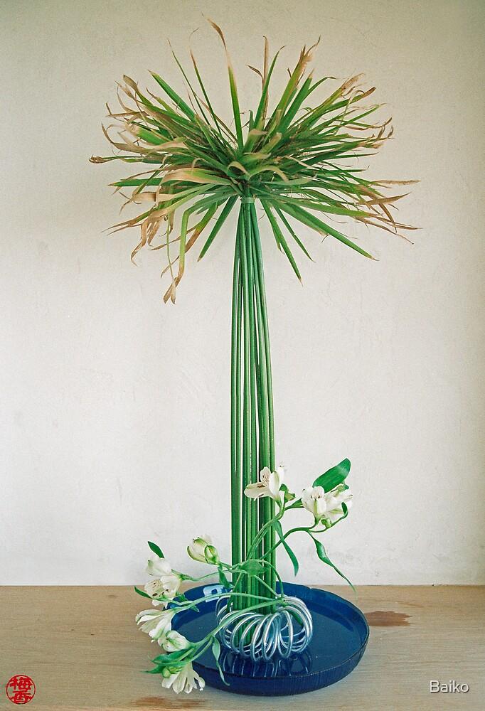 Ikebana-028 by Baiko
