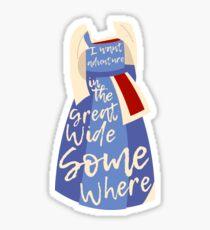 Great Wide Somewhere Sticker