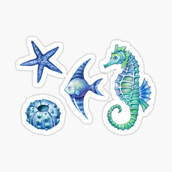 Under the sea sticker set Sticker